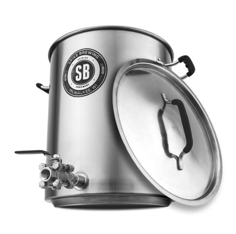 Spike Brewing 10 Gallon Brew Kettle V3 - 1 coupler - East Coast Hoppers