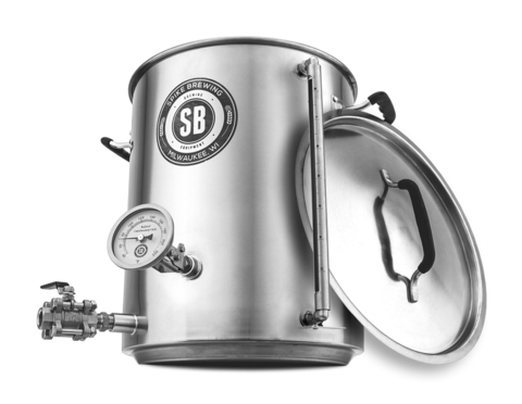 Spike Brewing 10 Gallon Brew Kettle V3 with Sight Glass - East Coast Hoppers