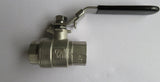 1/2 inch NPT Mash King Stainless Steel Ball Valve - East Coast Hoppers