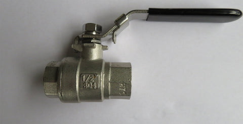 1/2 inch NPT Mash King Stainless Steel Ball Valve
