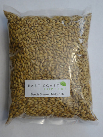 Smoked Malt - Beech Wood - East Coast Hoppers