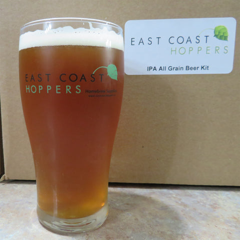 East Coast Hopper's custom 16 oz pub glasses