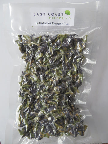 Butterfly Pea Flowers (dried) - 1oz
