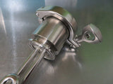 2 inch Stainless Steel Element Enclosure with 1.5 inch TC for kettles