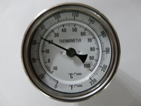 Stainless Steel Thermometer (6 inch probe) - East Coast Hoppers