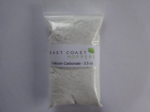 Calcium Carbonate - 3.5oz (100g) - East Coast Hoppers