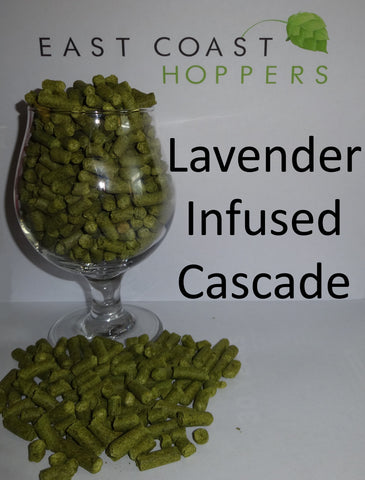 Cascade infused with Lavender