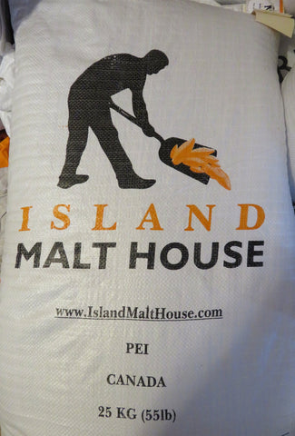 Island Malt House - 2-Row Malt - 55 lb (25kg) Sack