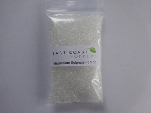 Magnesium Sulphate - 3.5oz (100g) - East Coast Hoppers