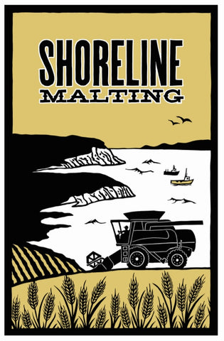 Shoreline Malting - 2-Row Malt - 55 LB (25KG) Sack