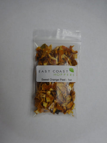 Orange Peel, Sweet - 1oz - East Coast Hoppers