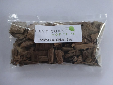 Toasted Oak Chips - 2 oz - East Coast Hoppers