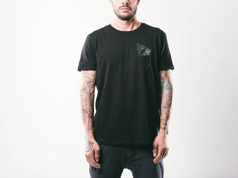 Freakin' Hungry M's Tee | Black