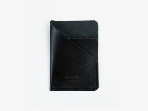 Simple card wallet | black