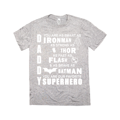 Daddy Superhero T-Shirt