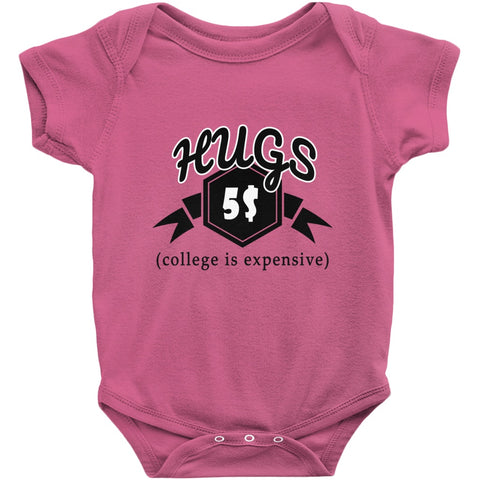College Money Hugs Onesie