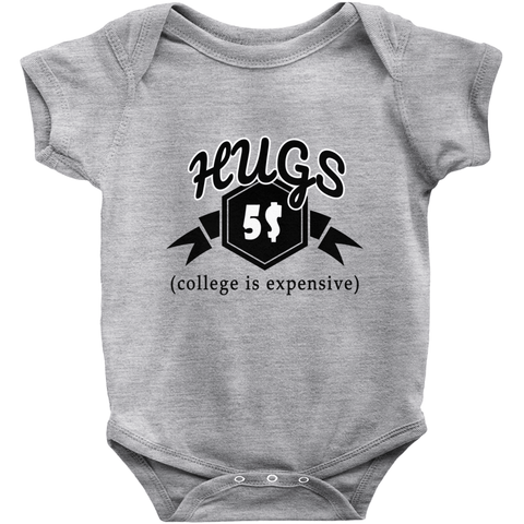 Image of College Money Hugs Onesie