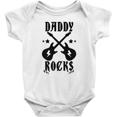 Image of Onesie - Daddy Rocks Onesie