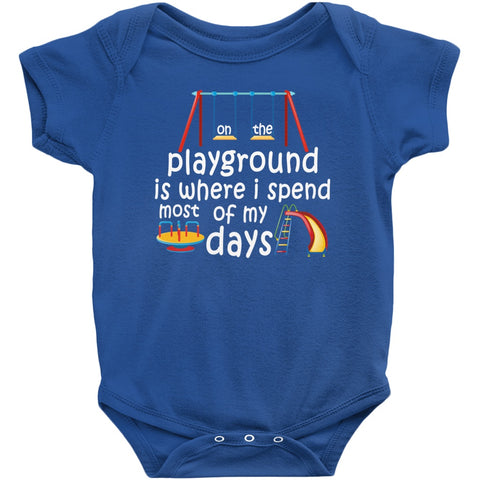 Image of Onesie - On The Playground Onesie