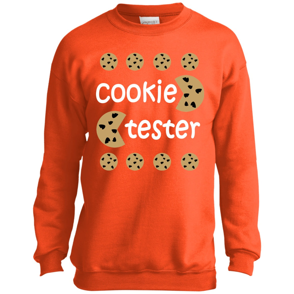 Sweatshirts - Cookie Tester Youth Crewneck Sweatshirt