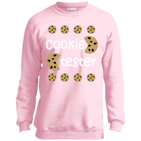 Image of Sweatshirts - Cookie Tester Youth Crewneck Sweatshirt
