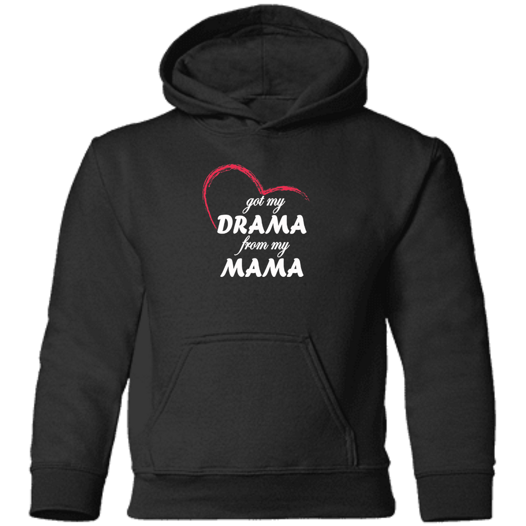 Sweatshirts - Drama From My Mama Toddler Pullover Hoodie