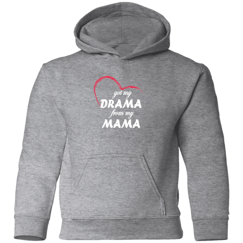 Image of Sweatshirts - Drama From My Mama Toddler Pullover Hoodie