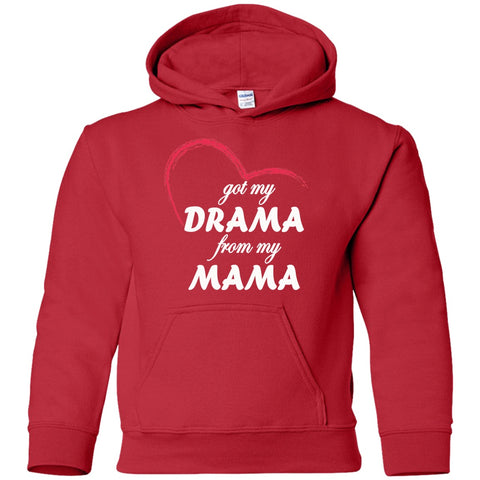 Image of Sweatshirts - Drama From My Mama Youth Pullover Hoodie