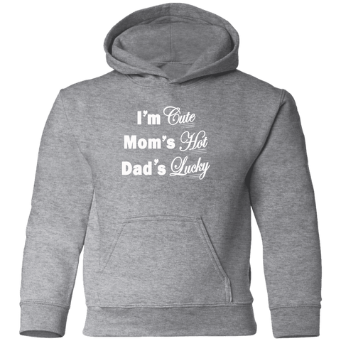 Image of Sweatshirts - I'm Cute Toddler Pullover Hoodie