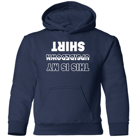Image of Sweatshirts - Upside Down Shirt Toddler Pullover Hoodie