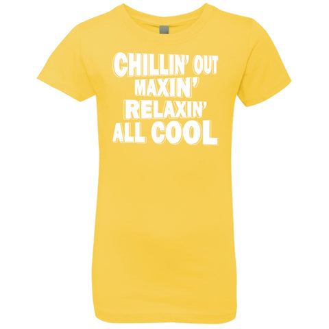 Image of T-Shirts - Chillin' Out Girls' Princess T-Shirt
