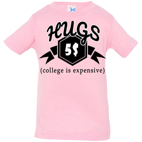 Image of T-Shirts - College Money Hugs Infant Jersey T-Shirt
