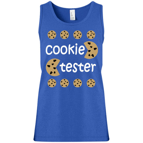 Image of T-Shirts - Cookie Tester Girls' 100% Cotton Tank Top