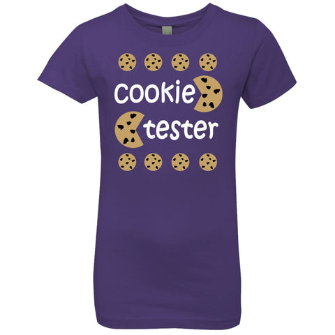 T-Shirts - Cookie Tester Girls' Princess T-Shirt