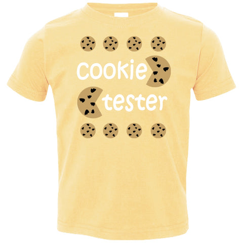 Image of T-Shirts - Cookie Tester Toddler Jersey T-Shirt