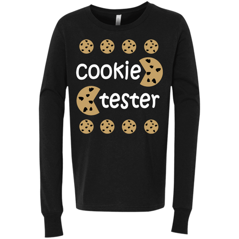 T-Shirts - Cookie Tester Youth Jersey LS T-Shirt