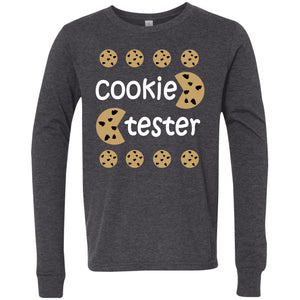 Cookie Tester Youth Jersey LS T-Shirt