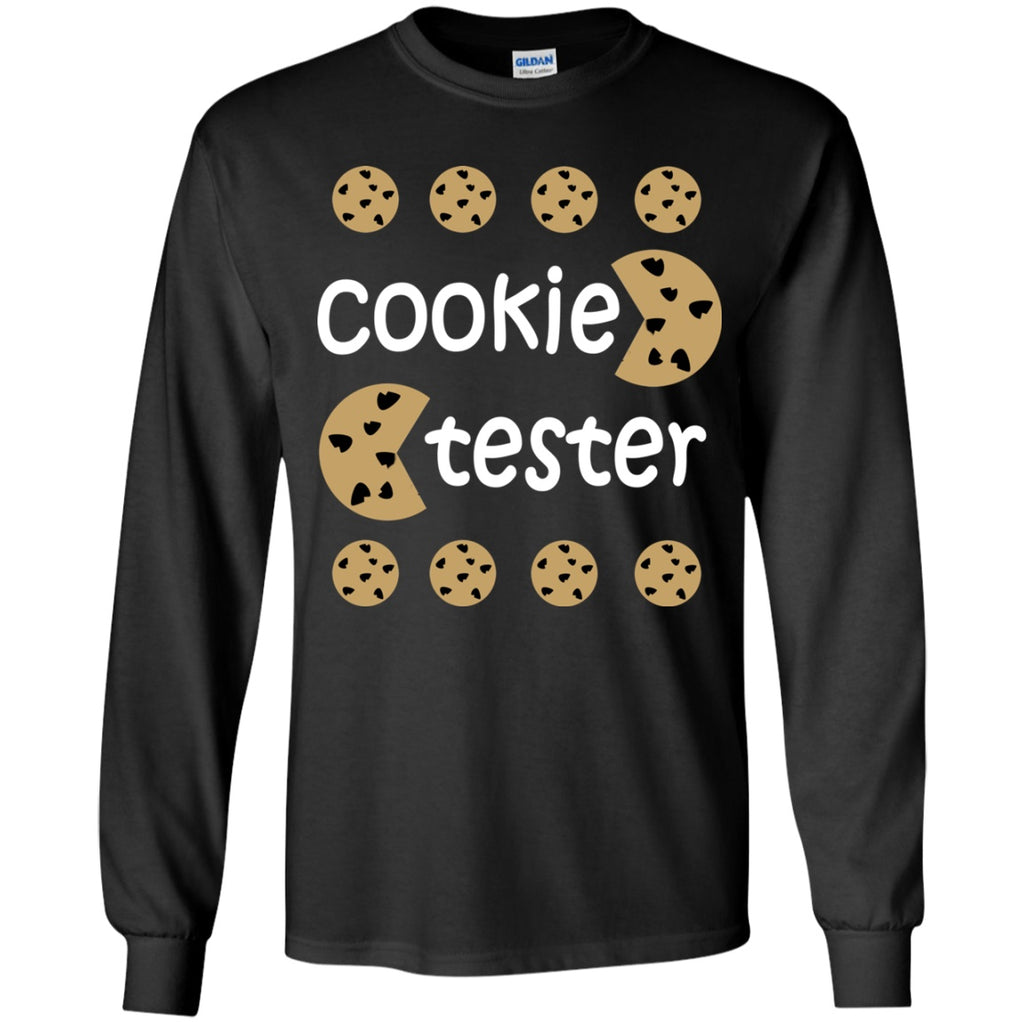 T-Shirts - Cookie Tester Youth LS T-Shirt