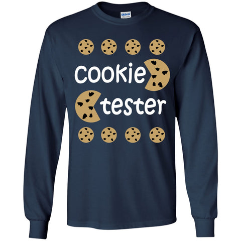 Image of T-Shirts - Cookie Tester Youth LS T-Shirt