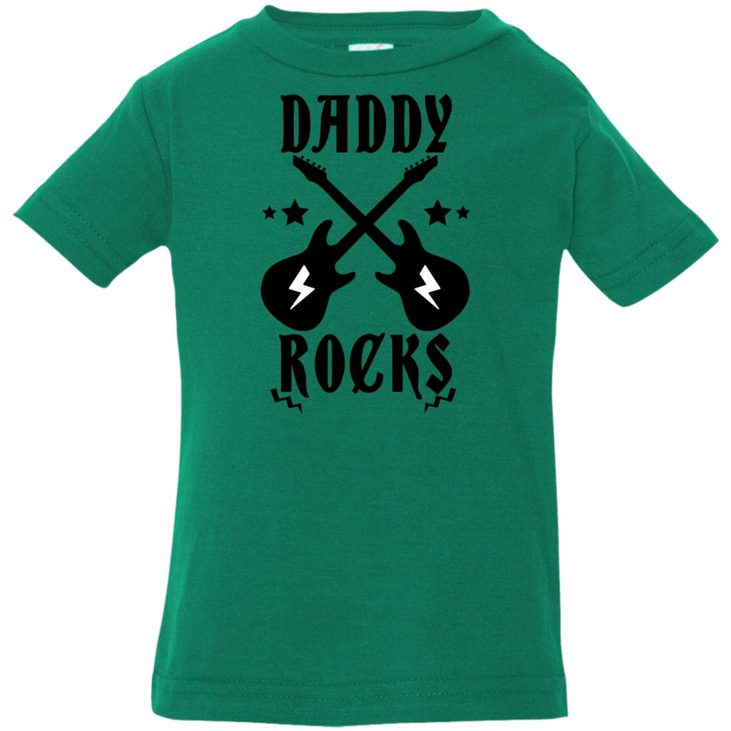 T-Shirts - Daddy Rocks Infant Jersey T-Shirt