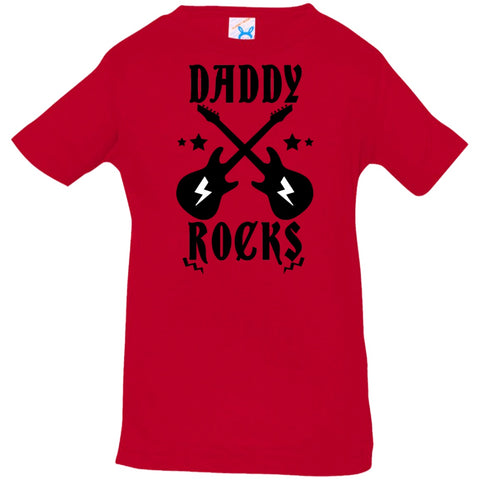 Image of T-Shirts - Daddy Rocks Infant Jersey T-Shirt