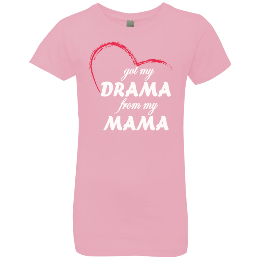 T-Shirts - Drama From Mama Girls' Princess T-Shirt
