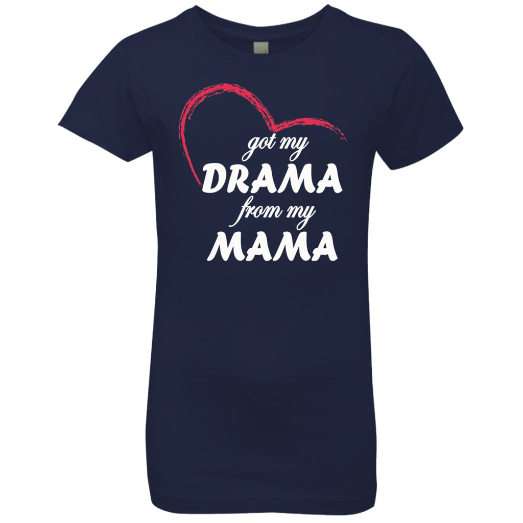 T-Shirts - Drama From My Mama Girls' Princess T-Shirt