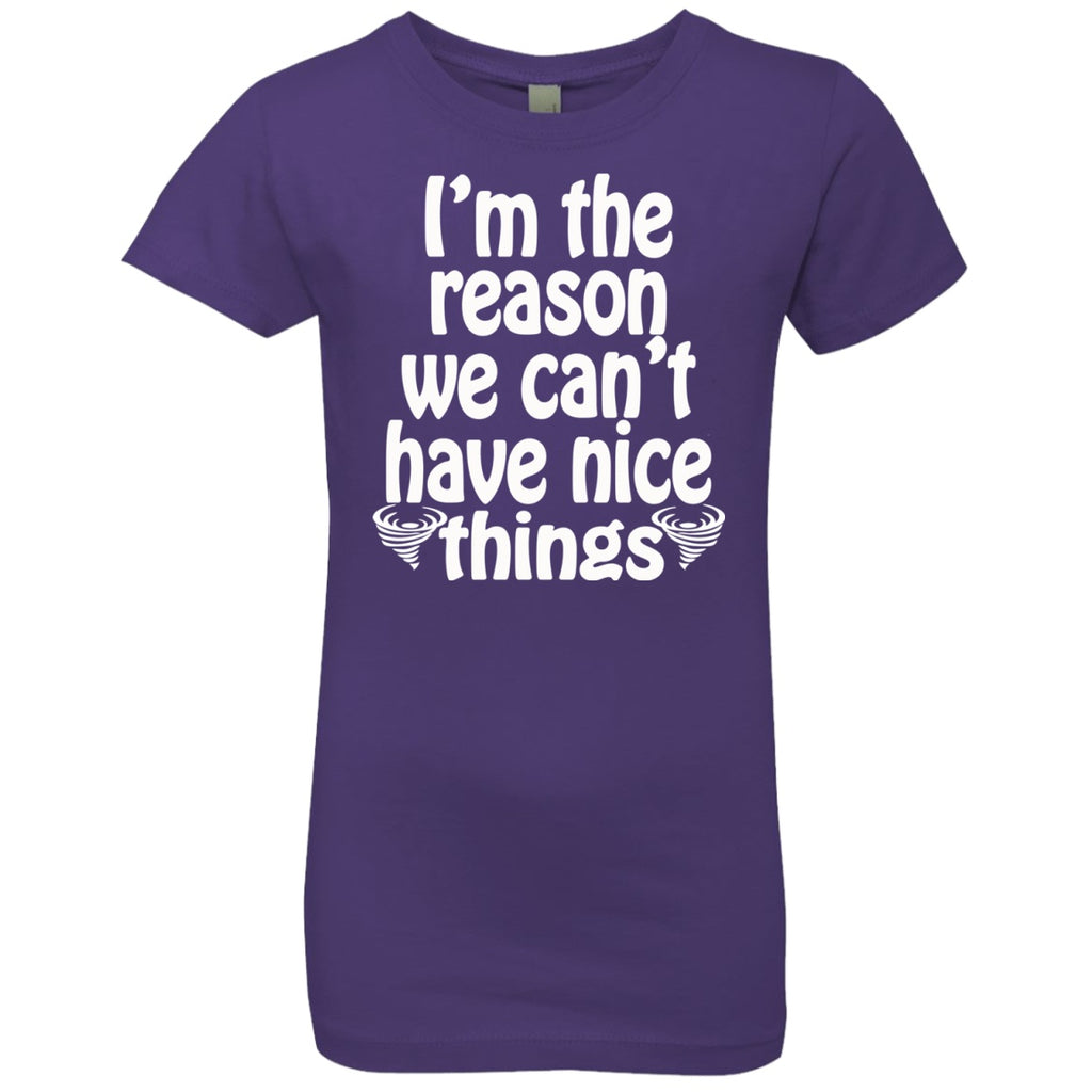 T-Shirts - Nice Things Girls' Princess T-Shirt
