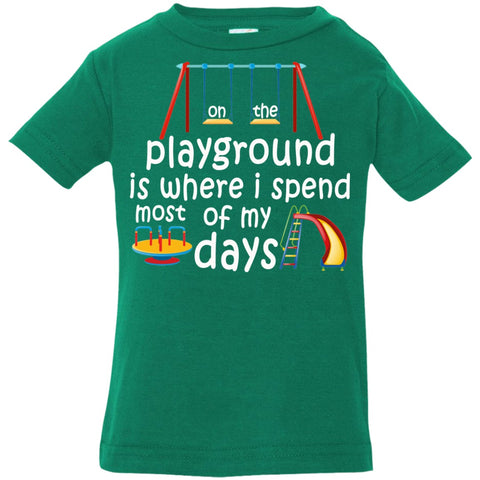 Image of T-Shirts - On The Playground Infant Jersey T-Shirt