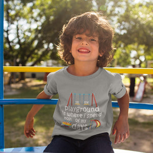 On The Playground Toddler Jersey T-Shirt