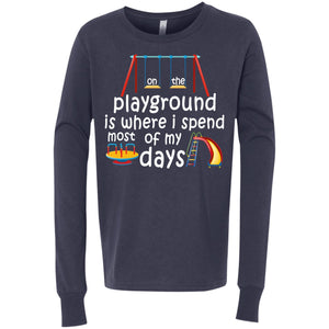 On The Playground Youth Jersey LS T-Shirt