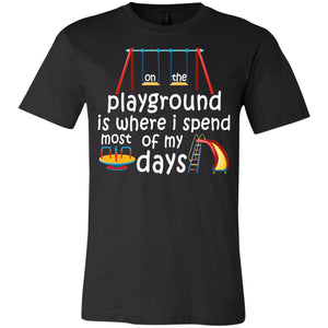 On The Playground Youth Jersey Short Sleeve T-Shirt