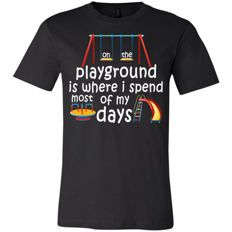 T-Shirts - On The Playground Youth Jersey Short Sleeve T-Shirt