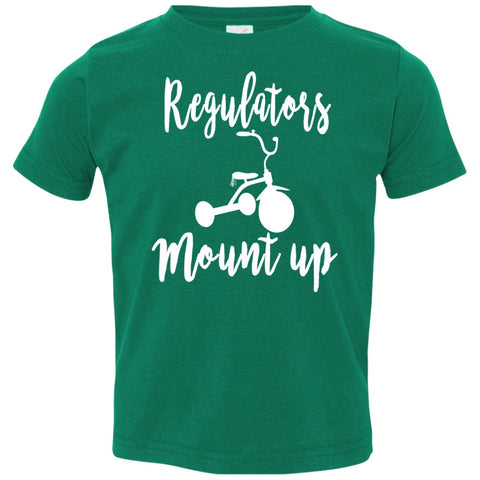 Image of T-Shirts - Regulators Toddler Jersey T-Shirt
